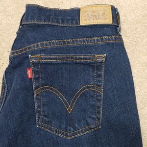 Levi's 505 straight cut jeans